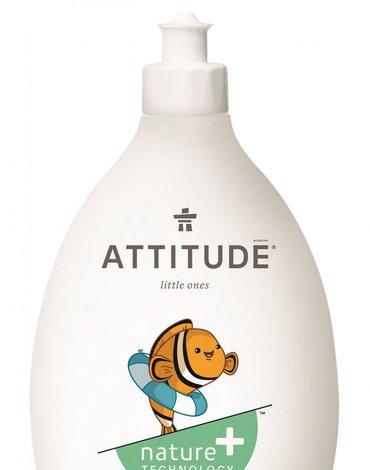 Attitude, Płyn do mycia butelek i akcesoriów dziecięcych, Bezzapachowy (fragrance free), 700 ml