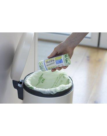 GreenAware, Kompostowalne worki na odpady spożywcze 25L, 10 szt.