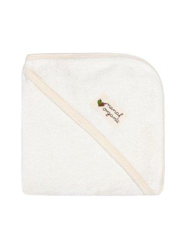 Nanaf Organic, BAMBUS, Ręcznik bambusowy 85x85, ecru