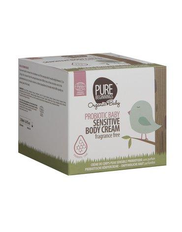 Pure Beginnings Organic Baby, Probiotyczny krem do skóry wrażliwej, 250ml