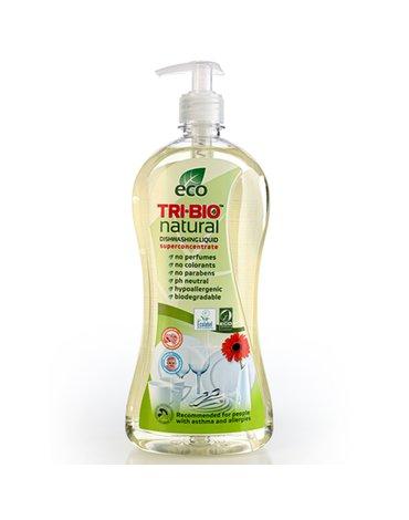 TRI-BIO, Ekologiczny Skoncentrowany Płyn do Mycia Naczyń, 840 ml