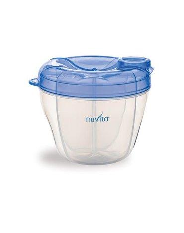 Nuvita, Pojemnik na mleko, 4 przegródki - BLUE
