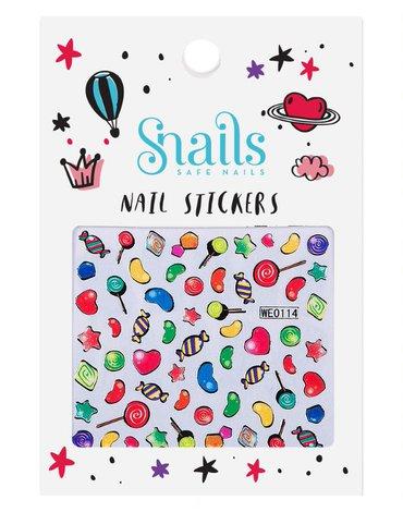Snails, Naklejki na Paznokcie Candy Blast, dla dziewczynek