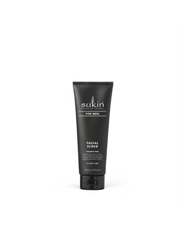 Sukin, FOR MEN Naturalny scrub do twarzy dla mężczyzn, 125ml
