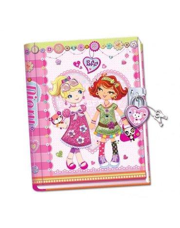 """Pecoware - Ręcznie robiony pamiętnik """"Przyjaciółki na zawsze"""""""