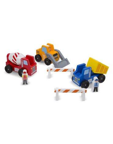 Melissa&Doug® - Maszyny budowlane z kierowcami