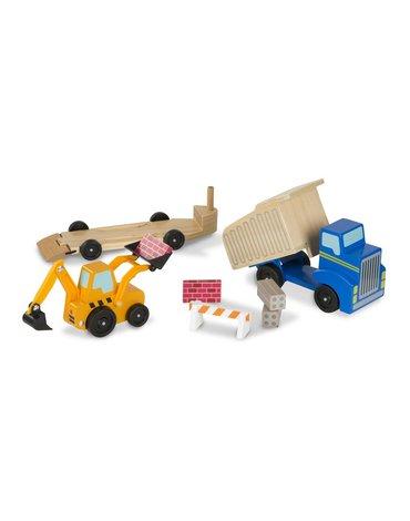 Melissa&Doug® - Pojazdy budowy zestaw