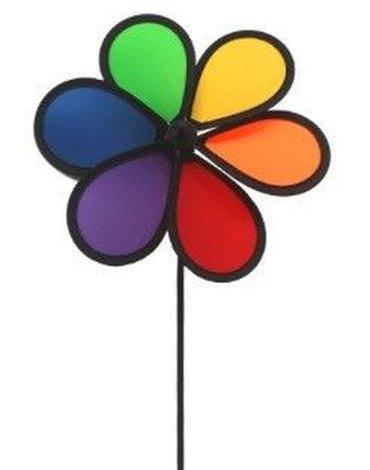 Imex - Wiatraczek tęczowy kwiatek