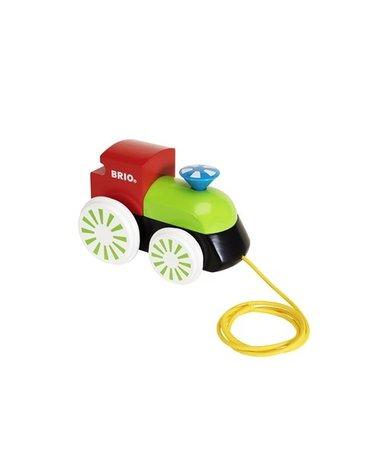 BRIO Zabawka do Ciągnięcia Lokomotywa