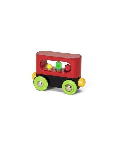 BRIO Mój Pierwszy Wagon ze Światłem