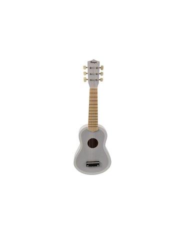 Magni - Gitara drewniana szara dla dzieci