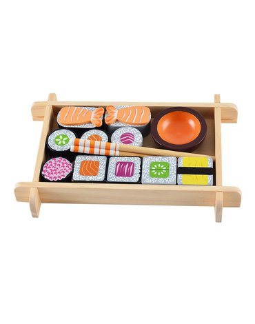 Magni - Sushi drewniane jedzenie