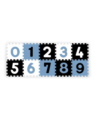 BABYONO - 274/03 Puzzle piankowe 10szt cyfry