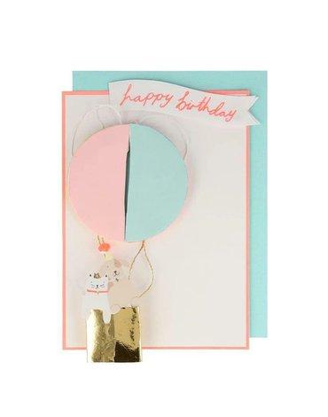 Meri Meri - Kartka okolicznościowa 3D Balon