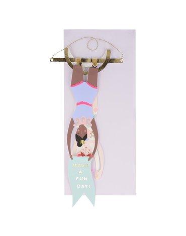 Meri Meri - Kartka okolicznościowa 3D Akrobaci