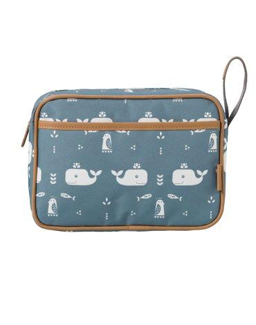 FRESK - Wash bag Whale blue