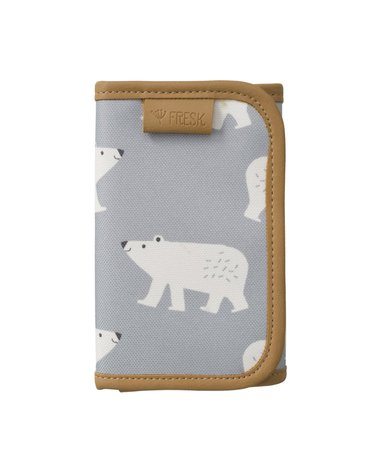 FRESK - Wallet billfold Polarbear