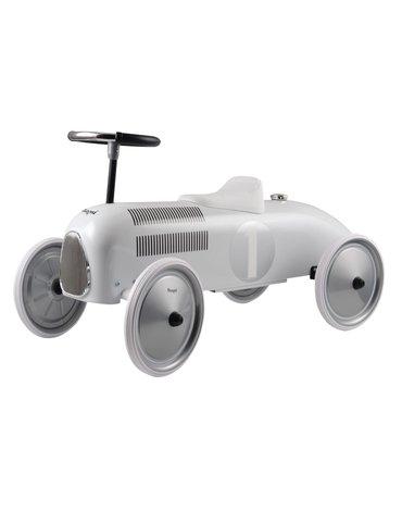 Magni - Jeździk metalowy Biała wyścigówka