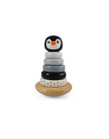 Magni - Piramidka z pingwinkiem czarna