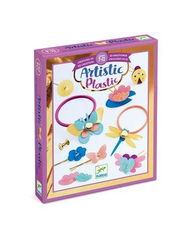 Djeco - Magiczny plastik AKCESORIA FRYZJERSKIE DJ09498