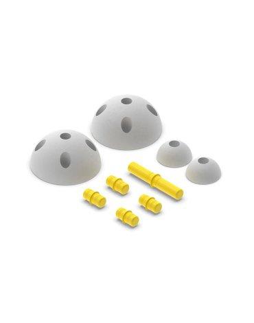 MODU - Half Ball Kit - piankowe półkule rozwijające motorykę dużą, żółte