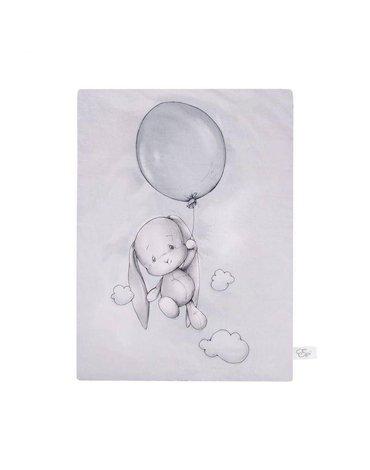 Effiki - Kocyk ocieplany 70x100 - Effik z balonem