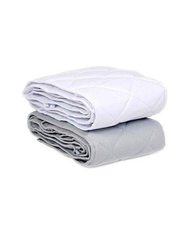 Effiki - Ochraniacz pikowany Biały na całe łóżeczko 60x120