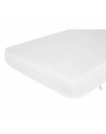 Effiki - Prześcieradło z gumką 100% bawełny - Białe 70x140