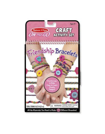Melissa&Doug® - On-the-Go Crafts - Bransoletki przyjaźni