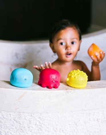 Ubbi Zabawki do Kąpieli Zwierzątka Morskie