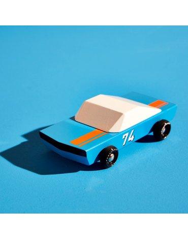 Candylab Samochód Drewniany Blue 74