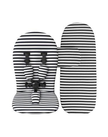 Zestaw kolorystyczny do wózka mima Xari - Black&White