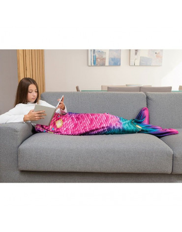 Kuaki Mermaids - Kocyk ogon syreni STAR