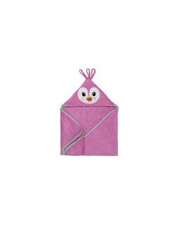 Zoocchini Ręcznik dla Niemowlaka z Kapturem Pingwin
