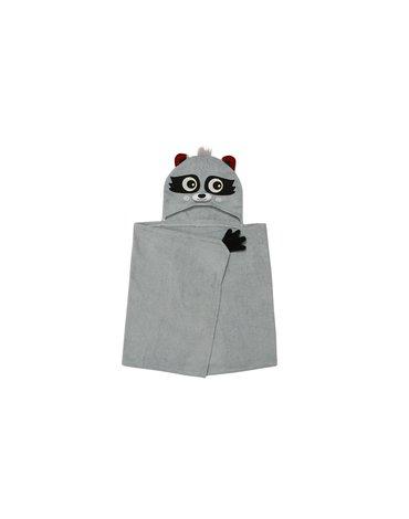 Zoocchini Ręcznik dla Dziecka z Kapturem Szop Pracz