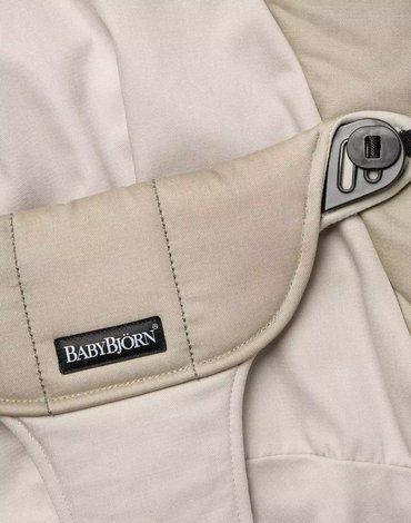 BABYBJORN - poszycie do leżaczka Balance Soft, Khaki/Beige, Cotton