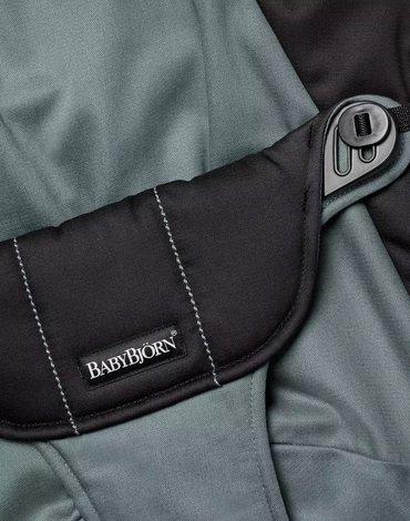 BABYBJORN - poszycie do leżaczka Balance Soft, Black/Dark Grey, Cotton