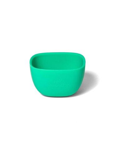 Avanchy La Petite Silikonowa Miseczka dla Dziecka 4m+ Green