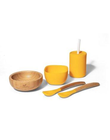 Avanchy Family Zestaw Obiadowy dla Dziecka Yellow