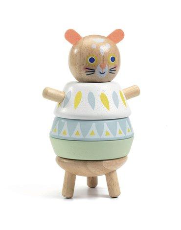 Djeco - Drewniana ukadanka BABY SOURI DJ06131