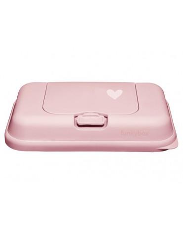 Funkybox - Pojemnik na chusteczki To go Pink Little heart