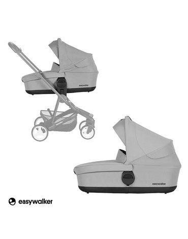 Easywalker Charley Gondola do wózka Cloud Grey (zawiera osłonkę przeciwdeszczową)