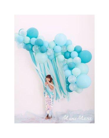 Meri Meri - Girlanda balonowa-łuk z kurtyną Nibieska