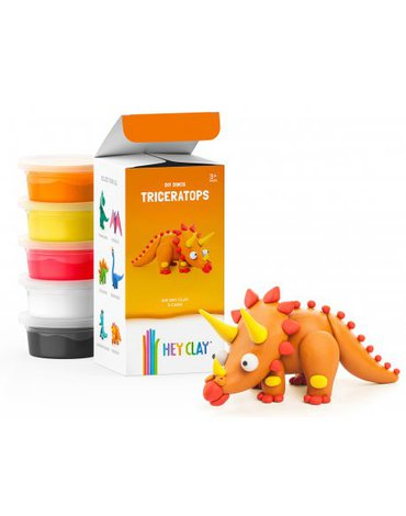 TM Toys - Hey Clay - Triceratops