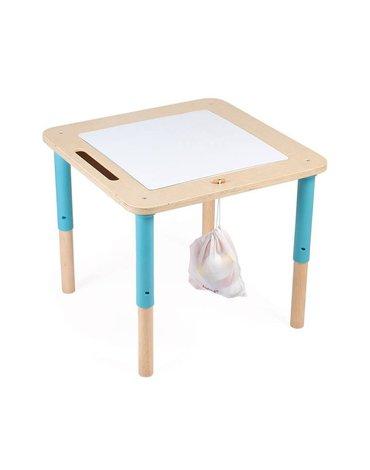Drewniany progresywny stolik aktywizujący 18 m+, Janod