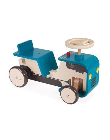 Drewniany jeździk Traktor 12 m+, Janod