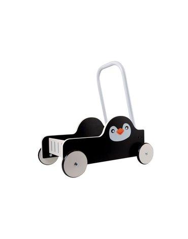 Magni - Drewniany pchacz Pingwin
