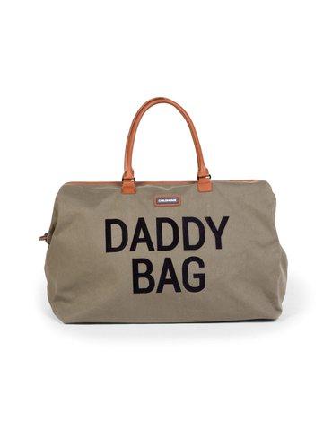 Childhome Torba Daddy bag Kanwas Khaki