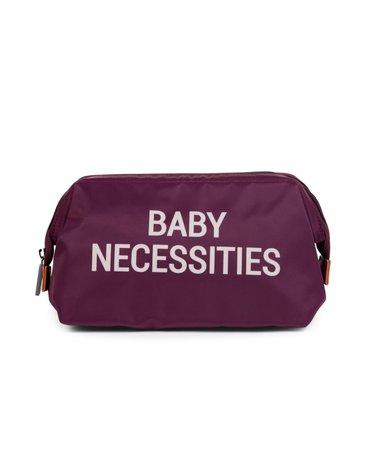 Childhome Kosmetyczka Baby necessities Aubergine