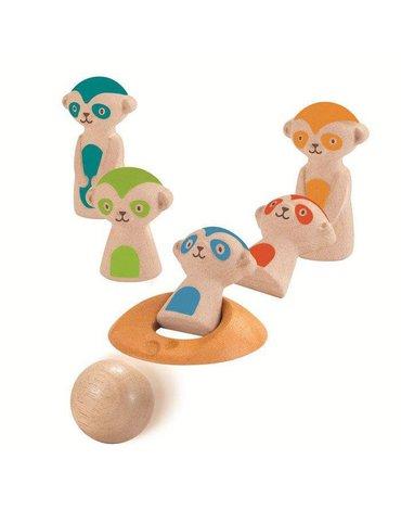 Kręgle dla dzieci, surykatki | Plan Toys®